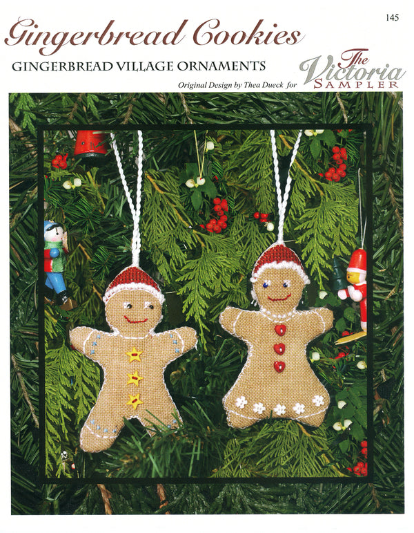 Gingerbread Cookies Leaflet