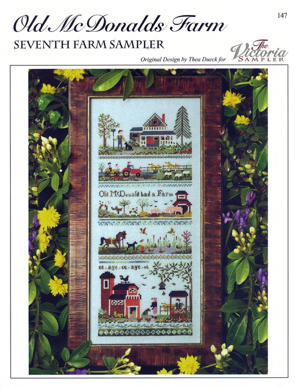 Old McDonald`s Farm Sampler Leaflet