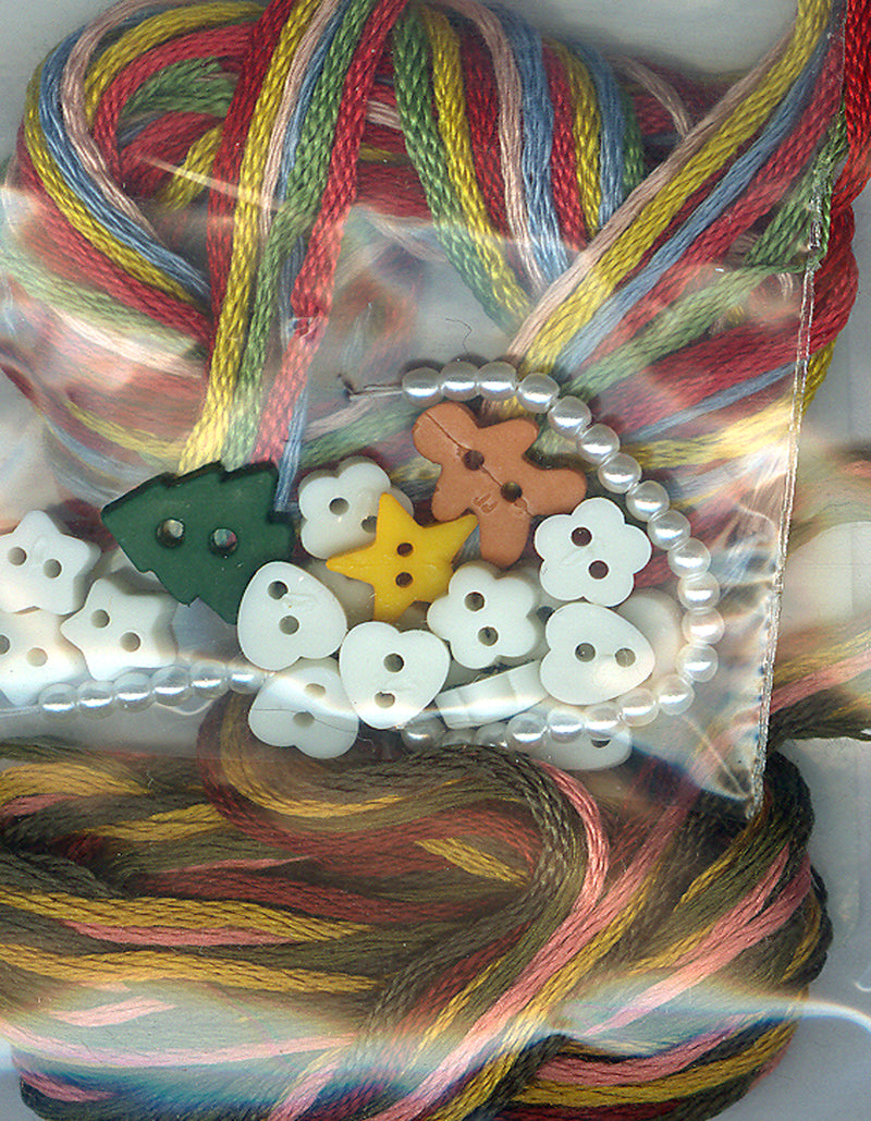 Gingerbread Mini-Stocking Ornament AccPack