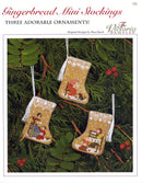 Gingerbread Mini-Stocking Ornaments Leaflet