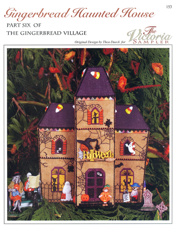 Gingerbread Haunted House Leaflet - Part 6 of Gingerbread Village