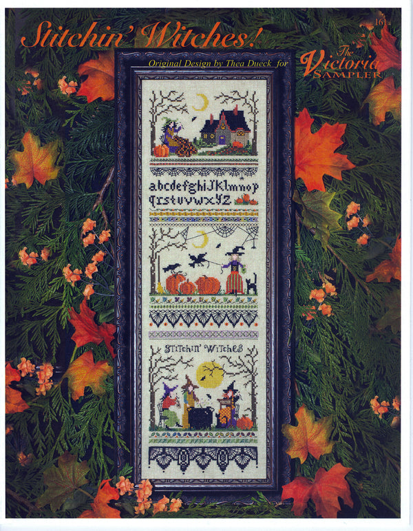 Stitchin Witches Sampler Leaflet