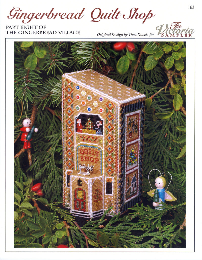 Gingerbread Quilt Shop Leaflet - Part 8 of Gingerbread Village