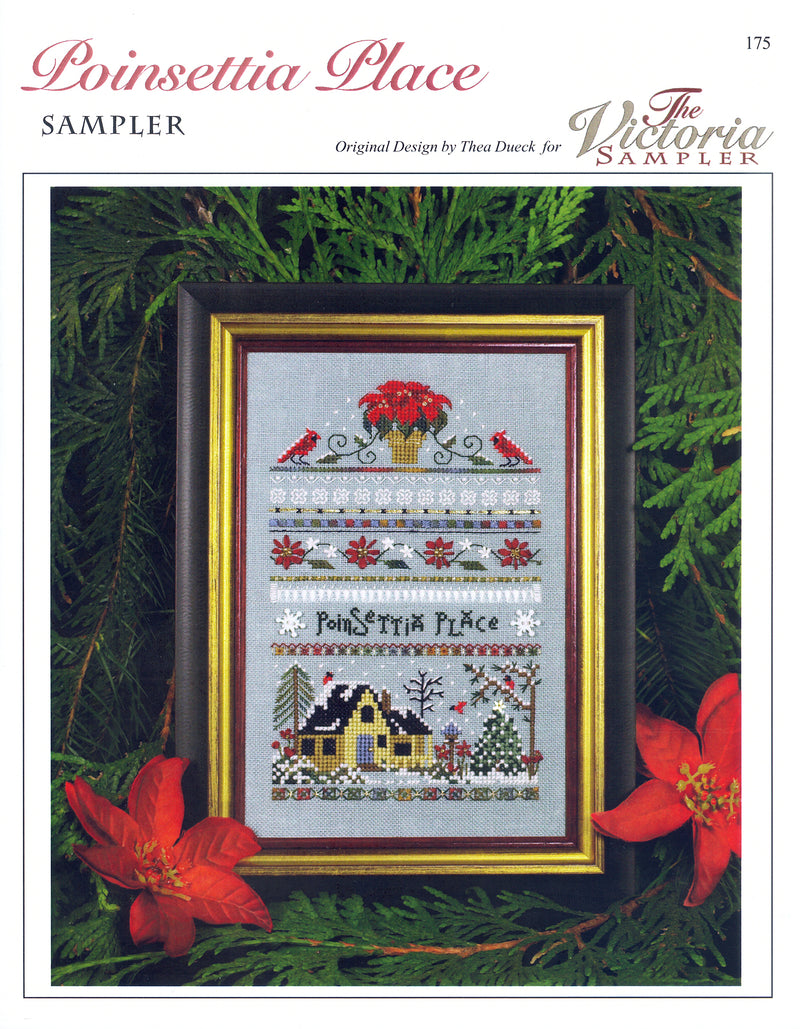 Poinsettia Place Sampler Leaflet