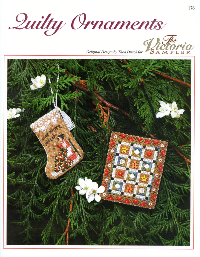 "Gingerbread ""Quilty"" Ornaments Leaflet"