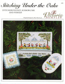 The Victoria Sampler - Stitching Under the Oaks Sampler Leaflet  - needlework design company