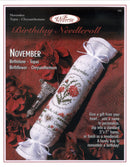 November Birthday Needleroll Sampler Leaflet