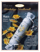 March Birthday Needleroll Sampler Leaflet