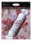 The Victoria Sampler - April Birthday Needleroll Sampler Leaflet  - needlework design company