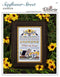 The Victoria Sampler - Sunflower Street Sampler Leaflet  - needlework design company