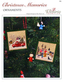The Victoria Sampler - Christmas Memories Ornaments Leaflet  - needlework design company