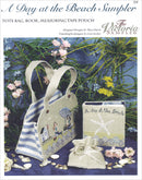 The Victoria Sampler - A Day at the Beach Smalls Leaflet  - needlework design company