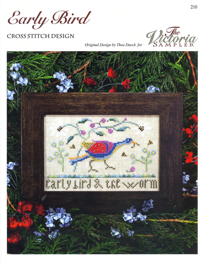 The Victoria Sampler - Early Bird Leaflet  - needlework design company