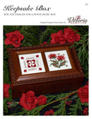 The Victoria Sampler - Keepsake Box Leaflet  - needlework design company