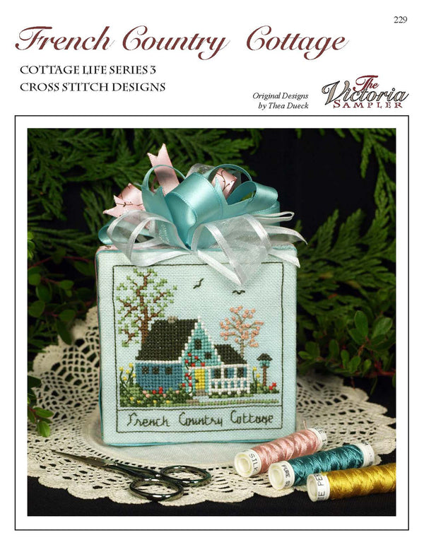French Country Cottage Leaflet