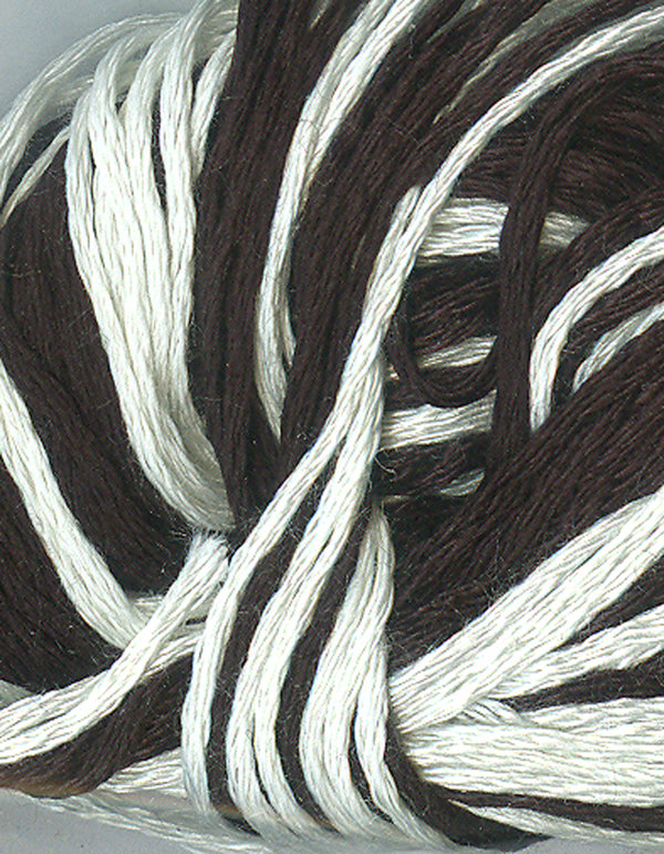 Harbour Village White and Black Silk Floss Pack