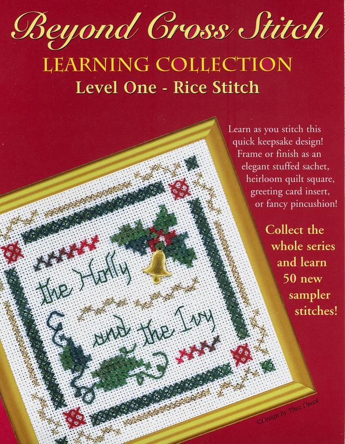The Victoria Sampler - BCS 1-01 The Holly and The Ivy Student Kit  - needlework design company