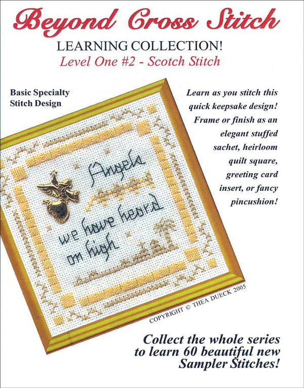 The Victoria Sampler - BCS 1-02 Angels We Have Heard Pattern (PDF Download)  - needlework design company
