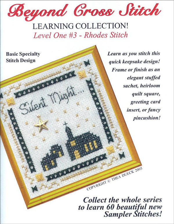The Victoria Sampler - BCS 1-03 Silent Night Pattern (PDF Download)  - needlework design company