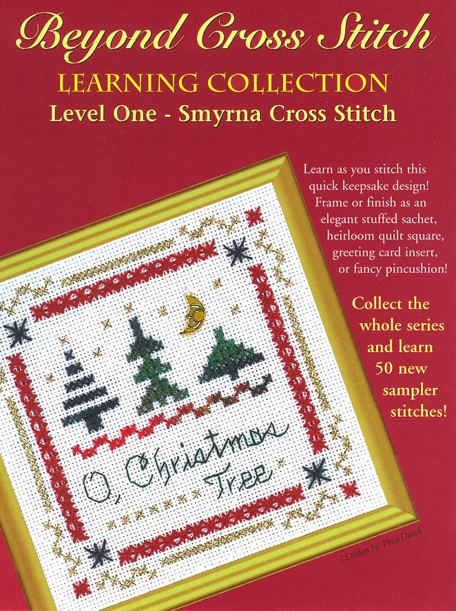 The Victoria Sampler - BCS 1-04 O, Christmas Tree Student Kit  - needlework design company