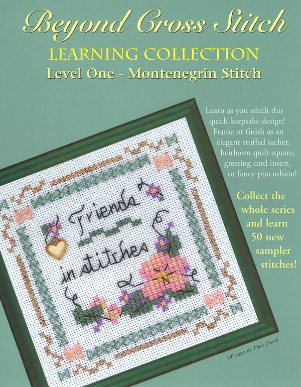 The Victoria Sampler - BCS 1-09 Friends in Stitches Pattern (PDF Download)  - needlework design company