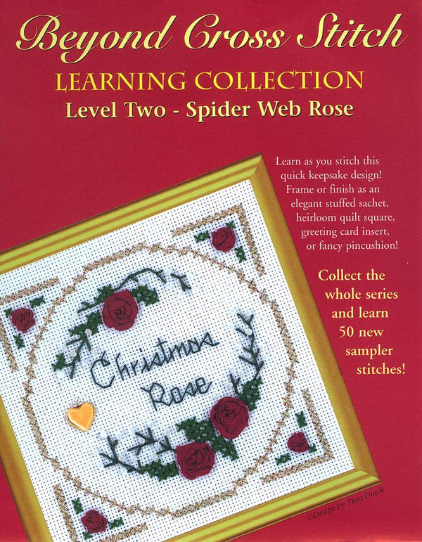 The Victoria Sampler - BCS 2-01 Christmas Rose Pattern (PDF Download)  - needlework design company