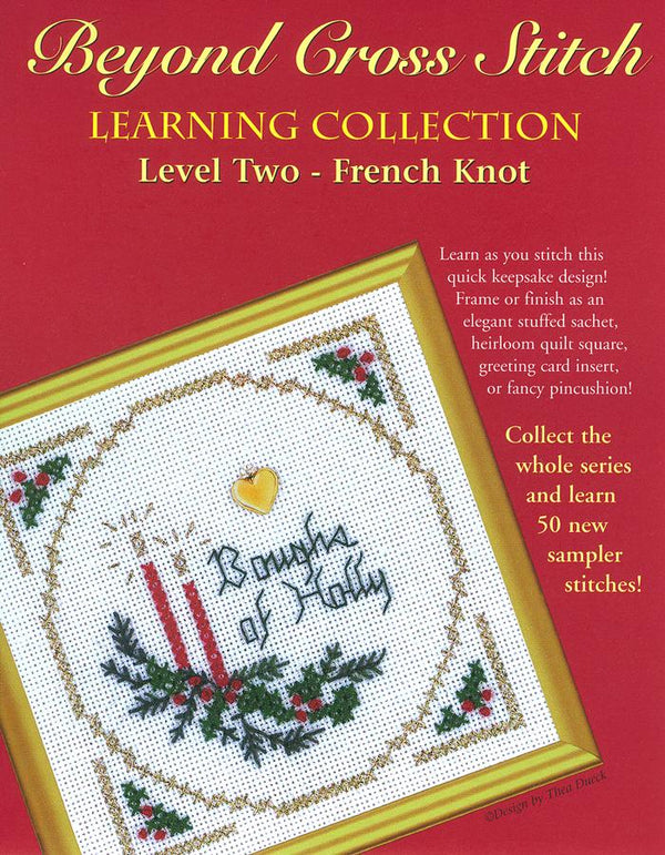 The Victoria Sampler - BCS 2-03 Boughs of Holly Pattern (PDF Download)  - needlework design company
