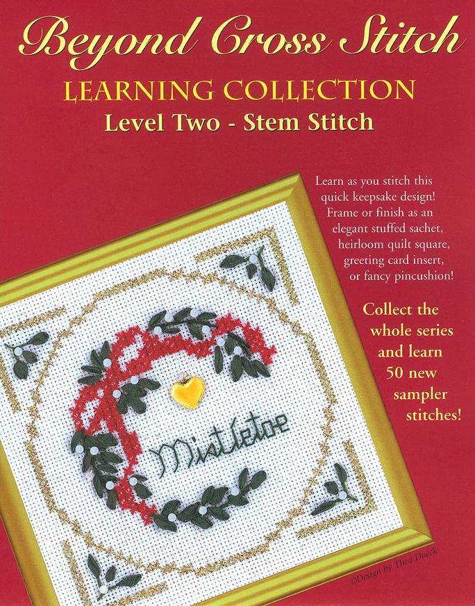 The Victoria Sampler - BCS 2-04 Mistletoe Pattern (PDF Download)  - needlework design company
