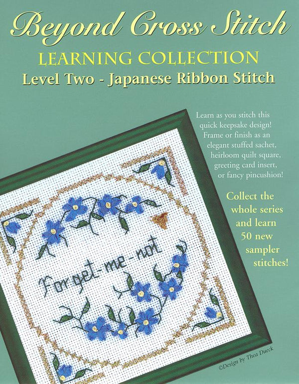 The Victoria Sampler - BCS 2-06 Forget-me-not Student Kit  - needlework design company