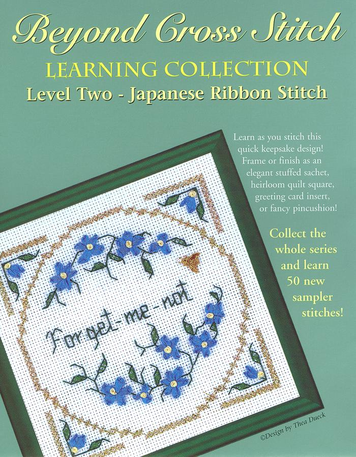 The Victoria Sampler - BCS 2-06 Forget-me-not Pattern (PDF Download)  - needlework design company