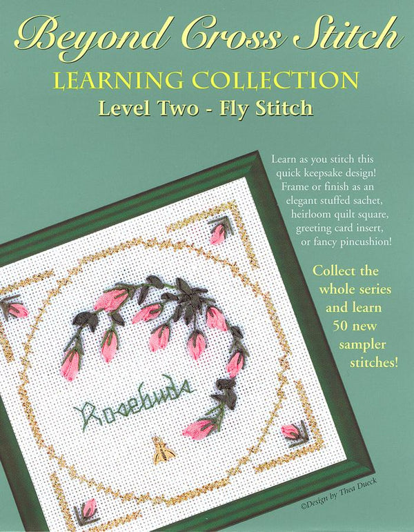 The Victoria Sampler - BCS 2-07 Rosebuds Pattern (PDF Download)  - needlework design company