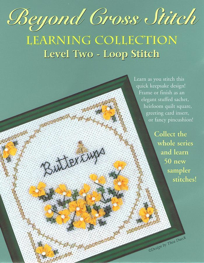 The Victoria Sampler - BCS 2-08 Buttercups Pattern (PDF Download)  - needlework design company