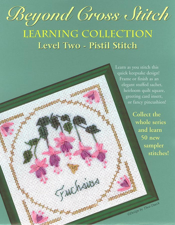 The Victoria Sampler - BCS 2-09 Fuchsias Pattern (PDF Download)  - needlework design company