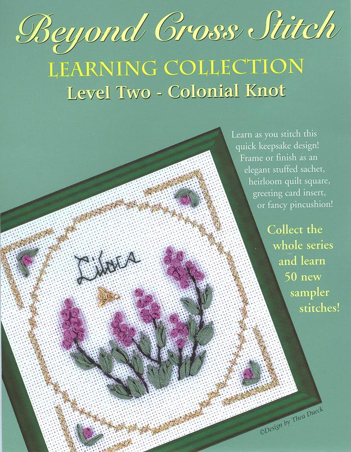 The Victoria Sampler - BCS 2-10 Lilacs Pattern (PDF Download)  - needlework design company