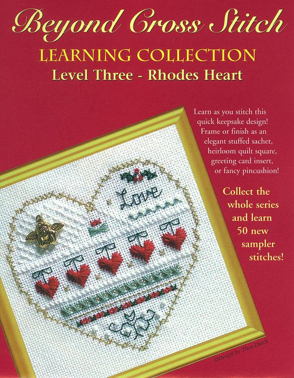 The Victoria Sampler - BCS 3-03 Love Pattern (PDF Download)  - needlework design company
