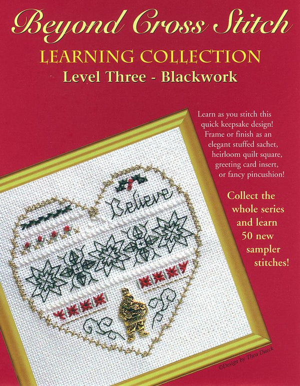The Victoria Sampler - BCS 3-04 Believe Pattern (PDF Download)  - needlework design company