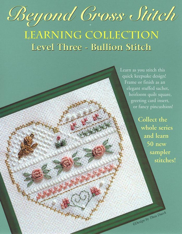 The Victoria Sampler - BCS 3-06 Roses Pattern (PDF Download)  - needlework design company