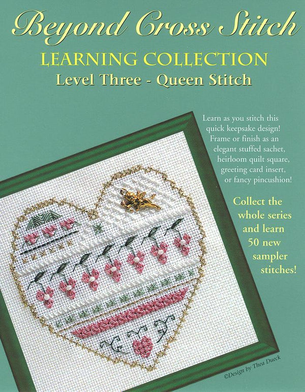 The Victoria Sampler - BCS 3-07 Valentine Pattern (PDF Download)  - needlework design company