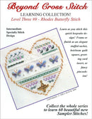 The Victoria Sampler - BCS 3-09 Butterflies Pattern (PDF Download)  - needlework design company