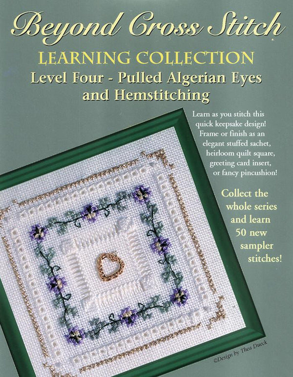 The Victoria Sampler - BCS 4-07 Pansy Chain Student Kit  - needlework design company