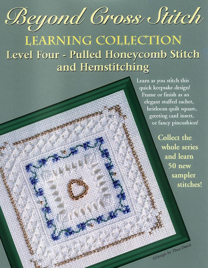 The Victoria Sampler - BCS 4-08 Periwinkle Student Kit  - needlework design company