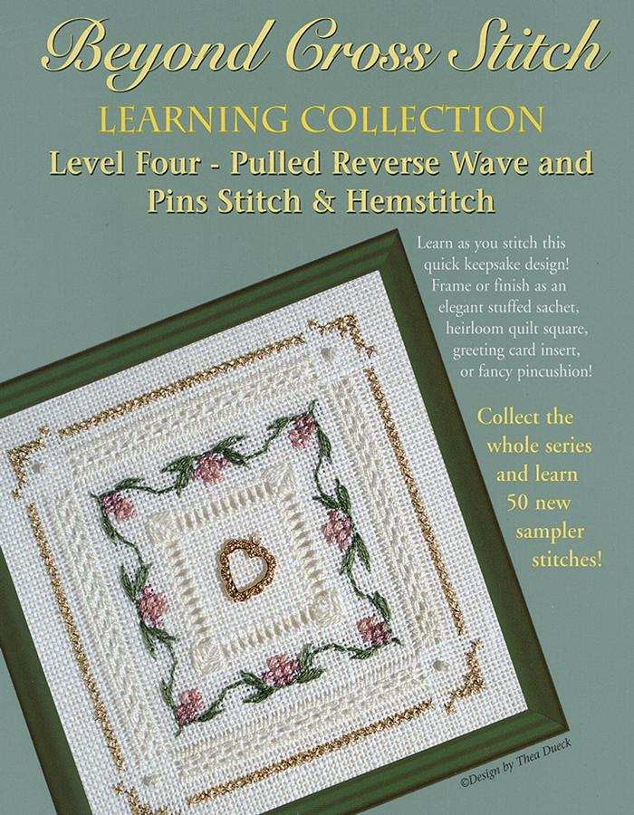 The Victoria Sampler - BCS 4-09 Rose Trellis Student Kit  - needlework design company
