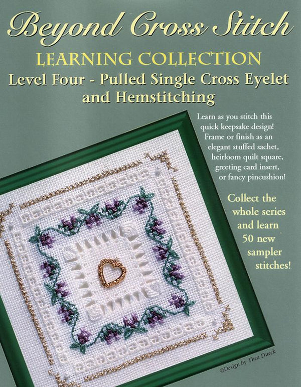 The Victoria Sampler - BCS 4-10 Heather Student Kit  - needlework design company