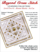 The Victoria Sampler - BCS 5-01 Christmas Gold Student Kit  - needlework design company