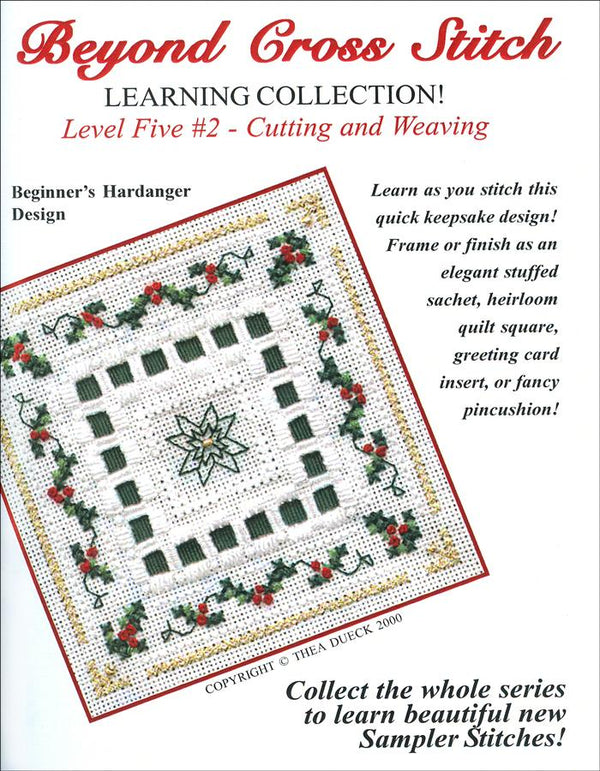 The Victoria Sampler - BCS 5-02 Holly Berries Student Kit  - needlework design company