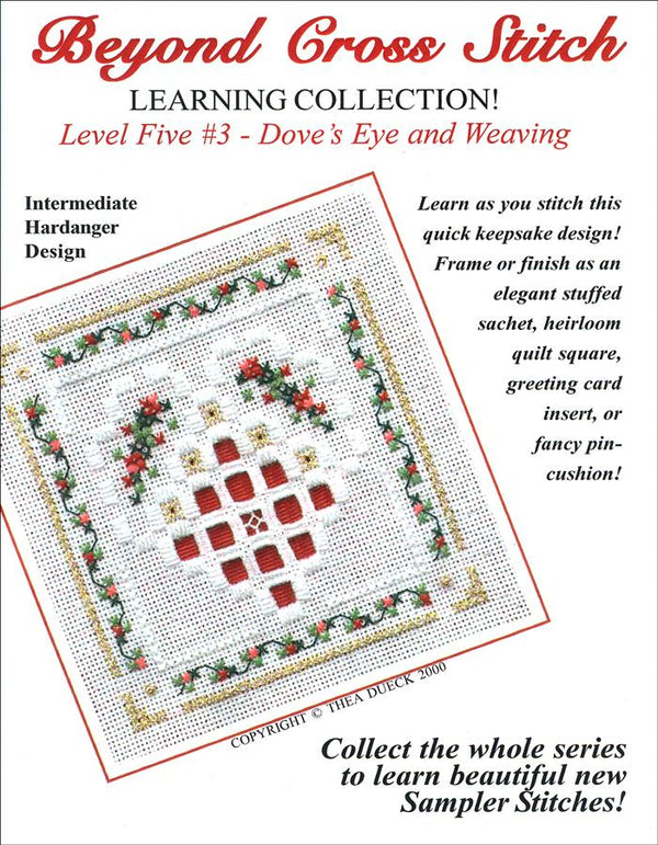 The Victoria Sampler - BCS 5-03 Christmas Heart Student Kit  - needlework design company