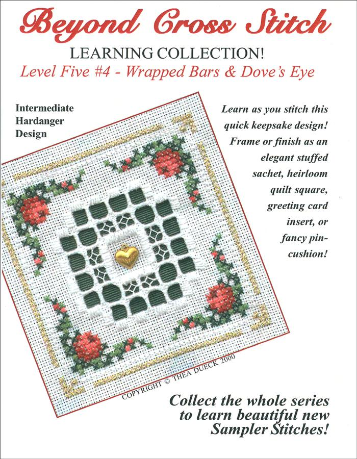 The Victoria Sampler - BCS 5-04 Hardanger Wreath Student Kit  - needlework design company