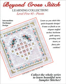 The Victoria Sampler - BCS 5-06 Floral Heart Student Kit  - needlework design company