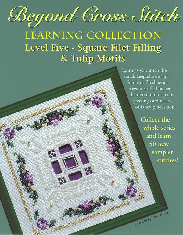 The Victoria Sampler - BCS 5-07 Lavender Summer Student Kit  - needlework design company