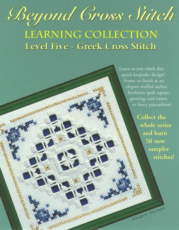 The Victoria Sampler - BCS 5-09 Delft Tile Student Kit  - needlework design company